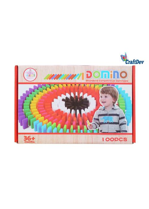 100pc Wooden Domino Game for kids & adult